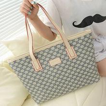 HFR-S14090317 China wholesale new design hot sale canvas fashion lady handbag