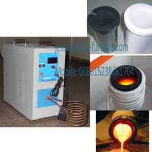 HF induction precious metal smelt oven metal goods melting furnace