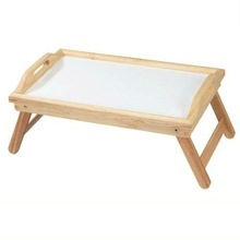 High quality wooden folding tray table