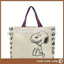 Cotton gift bag cotton drawsring bag FL-CB03974
