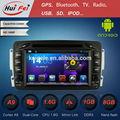 Huifei 1024 Rk3066 A9 de doble núcleo de pantalla táctil del espejo Android 4.2.2 reproductor de Dvd del coche de los Gps de Mercedes W210