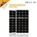 Fabricantes na china, de alta eficiência de sistemas de energia solar usado 100w painéis solares