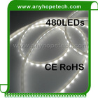 Side emitting 38.4watt super bright high qulaity addressable dmx rgb led strip