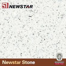 Newstar produce sparkle white quartz