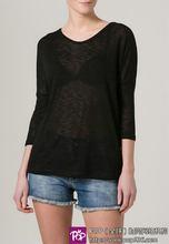 Fashionable best sell linen t shirt