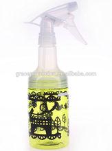 custom plastic spray bottles for any volume and shapes 200ml 300ml 500ml