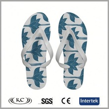 cheap price selling blue white comfortable flip flops for walking