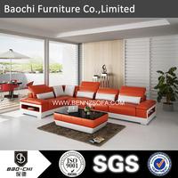 Baochi very cheap living room furniture ,living room furniture l shape sofa C1188-C