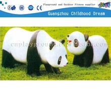 (HD-18914)Beautiful panda life size fiberglass sculpture
