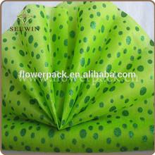 material no tejido para el arreglo de flores floristería y suministros
