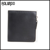 Hot Selling Designer Genuine Leather Men's Zipper Wallet
