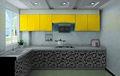 De alto brillo gabinete de cocina modular( tablero de mdf, el panel de acrílico con diseños)