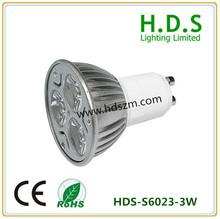 LED Spotlight 3w power led warm white 3w 2700k led driver dimmable
