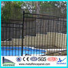 balcony fence hot sale / hot dipped galvanized fence panel/ steel yard fence panel ISO 9001 Factory