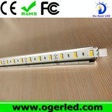 DC12V Input Voltage double row Aluminum smd2835 led cabinet light