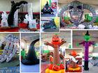 TOP halloween pumpkin light decorations/ halloween pumpkins /halloween decoration inflatable halloween ---- MK-4