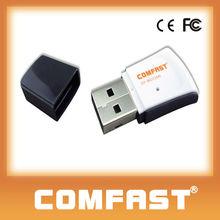150Mbps mini wireless usb wifi network card 2dBi Antenna Gain COMFAST CF-WU720N