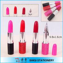 Fashion advertising pretty lipstick pen