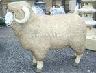 High simulation animal animatronic life size sheep