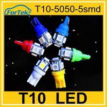 Super bright car headlight t10 led 5050 5smd 12v T10 led series