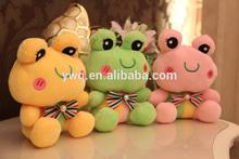 Frog plush toys /animal plush frog toys