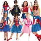 fancy dress for kids American Dream Girls Costume Superhero Movie dress costume girls