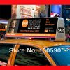 Outdoor Usage and Video Display Function taxi roof top signs leds
