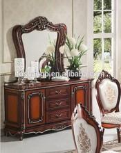 dormitorio muebles antiguos de madera de vestirse de diseños de mesa con espejo