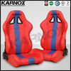 Karnox red and blue car seats from alibaba express