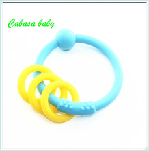 Top Fashion Silicone teether for Children teether for baby
