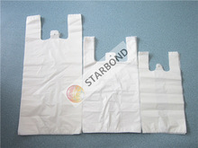 Supermarket Plastic T-Shirt/Shopping/Carrier/Singlet Bag for Grocery Packaging