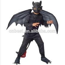 How to Train Your Dragon 2 night Furry Black Halloween costume boy Night furry costume