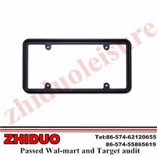 Perimeter Black Plating License Plate Frame