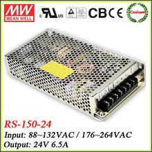 Meanwell dc 24v power supply 156W RS-150-24