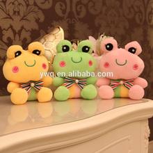 Frog plush toys /Mascot Stuffed toys /decoration frog happy plush toy