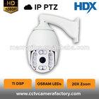Megapixel Network HD IP mini speed dome camera ptz camera IP cctv camera outdoor use