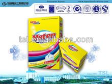 500g box wrap, high foam Washing Powder / Detergent Powder for Manual Wash, Lemon Freshness