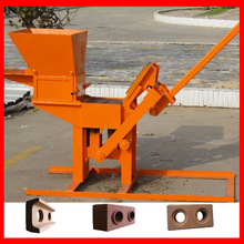 LY1-40 clay block building machine equipments