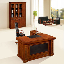 Best selling products l-shaped ceo office desk/executive wooden office desk/industrial style office desk(FOH-HS-A2048)