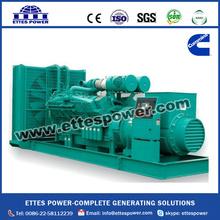 1000kw Diesel Generator by KTA38-G9 at 50hz