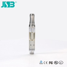 China wholesale mini refillable tankomizer, JSB new generation 0.9ml 400puffs 510 808 thread vaporizer tankomizer