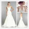 MZ-217 Tailor Made V Neckline Bridal Dress Wedding Dress Alibaba Wedding Dress 2014 Sri Lanka Wedding Dress