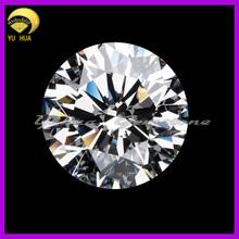 round brilliant cut synthetic gemstone 1mm cz