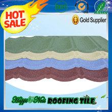 Terracotta Stone Coated Roof Tiles / Asphalt Shingle / Black Corrugated Roofing Sheet