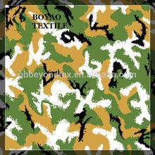 fashion camouflage printed cotton uniform twill fabric