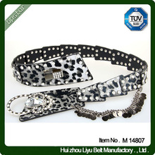 Indian Beaded Belts Fashion Beaded Belts With Interlock Buckle