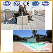 Jardim piso é o best seller wpc piso decks que passou ce, Alemanha padrão, Iso9001