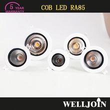 TOP QUALITY!! 5 Years Warranty led downlight recessed adjustable