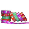 Colorful Heart Pattern Gift Packaging Ribbon
