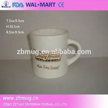 ceramic custom emboss logo handmade mug